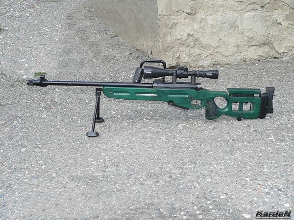 Снайперская винтовка СВ-98 фото 1