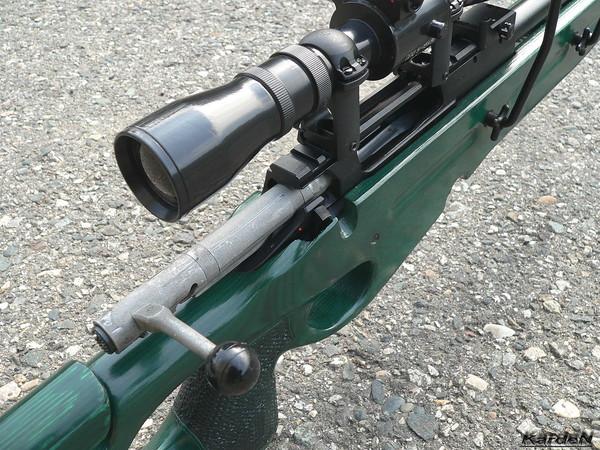 Снайперская винтовка СВ-98 фото 13