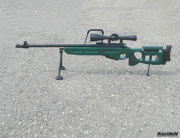 Снайперская винтовка СВ-98 фото 15