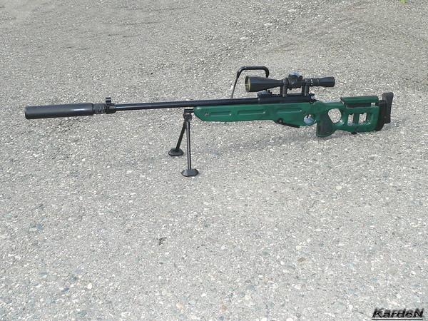 Снайперская винтовка СВ-98 фото 17