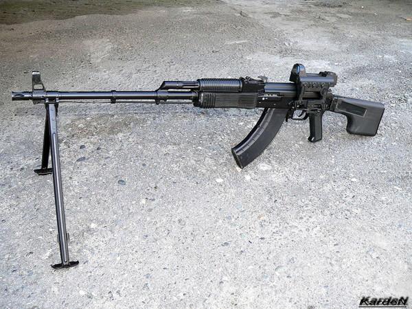 Ручной пулемет Калашникова модернизированный - РПК 74М
