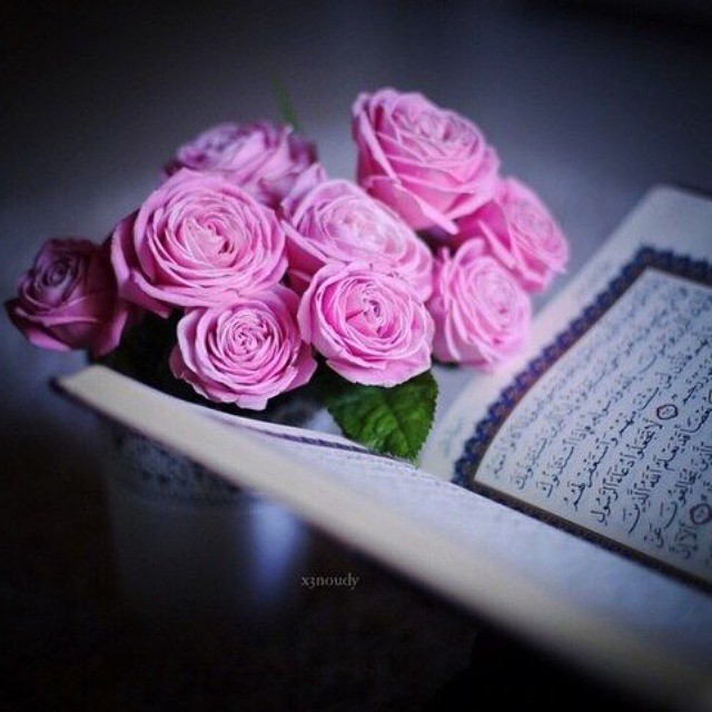 Мусульманские картинки цветы с надписями, днем
