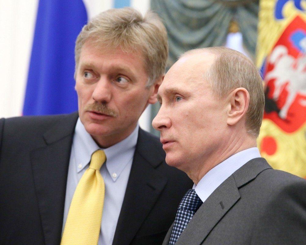 Путин Песков иногда несет пургу