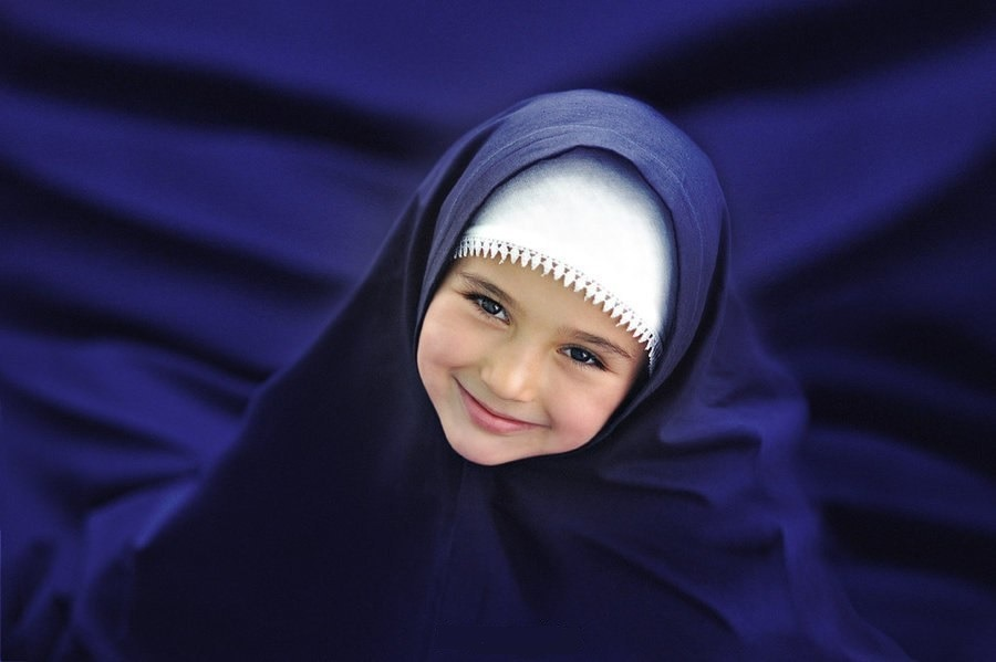 Картинка мусульманские дети, открытки
