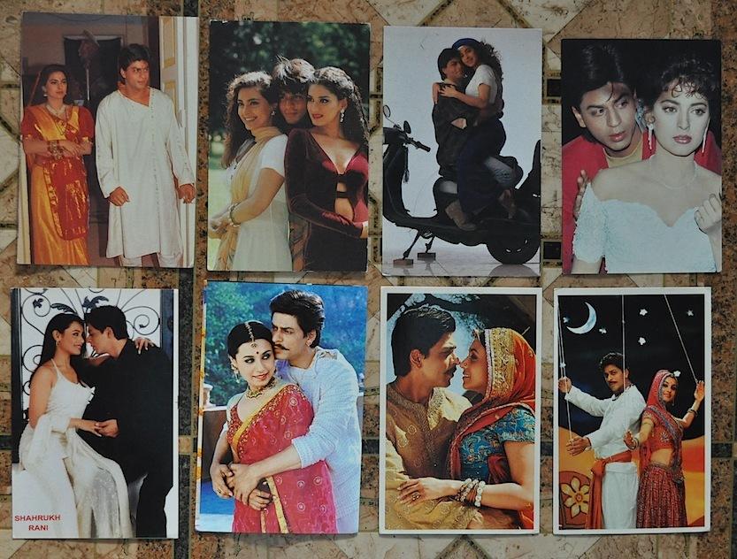 Юбилеем, как делают цифровые открытки с индийскими актерами